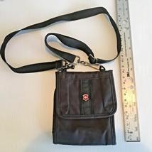 Travel Wallet Passport Organizer Black Unisex Crossbody bag or Belt Mount - €11,38 EUR