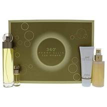 Perry Ellis 360 For Women 4-Piece Set (3.4 Oz Eau De Toilette Spray + 4 ... - $46.33