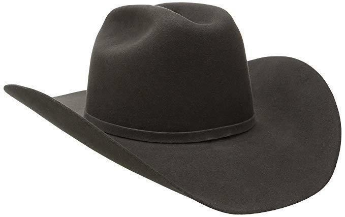 Primary image for Bailey Western Men's Lightning Cowboy Hat, Steel, 6 7/8 Wool and Angora Felt