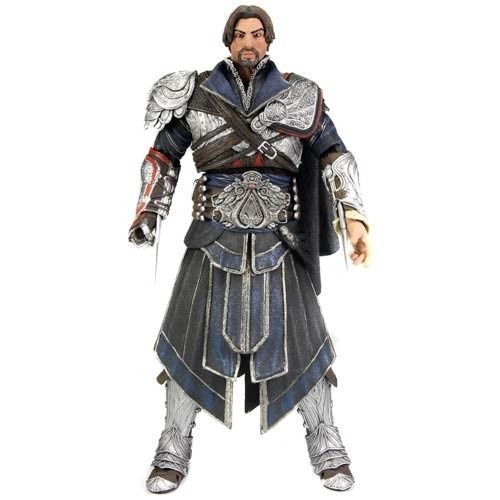 NECA Assassin's Creed Brotherhood Ezio Unhooded Action Figure