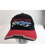 Snap On Tools Racing  PIT CREW Baseball Cap Hat Black Red White Blue Adj... - $13.70