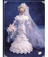 1996 Bride Doll Gown for Barbie Annie's Crochet Pattern Leaflet 30 Days to Pay! - $6.27