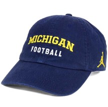 Michigan Wolverines Football NCAA Nike Heritage Jordan Jumpman OSFM Cap Hat - $24.70