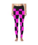 Race Car Driver Cosplay Costume Inspired Black & Pink Checkers Women's L... - $49.95