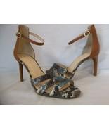 Jessica Simpson 7.5 M Maselli Multi Color Open Toe Heels New Womens Shoe... - $53.51