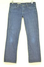 AG Jeans 27 x 28 the Charlotte Straight Leg dark wash USA - $39.59