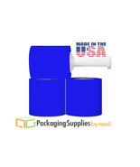 "12 ROLLS BLUE STRETCH HAND WRAP FILM 5"" x 1000 FT x 80 GA - $50.70"