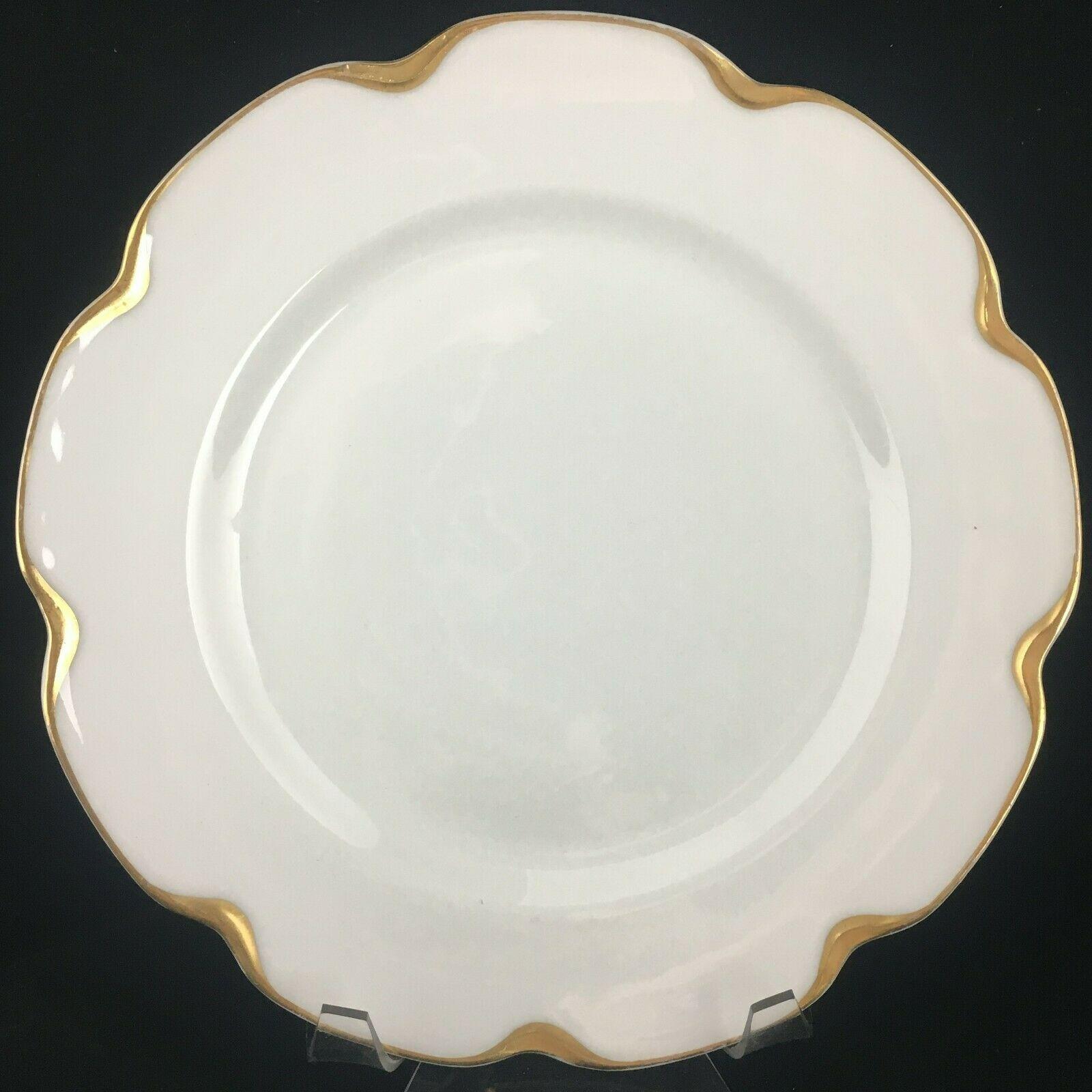 Haviland Limoges Schleiger 19 Silver Anniversary Dinner plate - $20.00