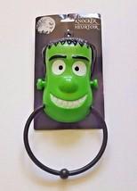 Frankenstein Green Monster Halloween Decoration Plastic Door Knocker - €5,93 EUR