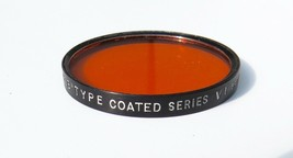 Vintage Tiffen - #85 Type B Coated Filter - Series VI - Drop in 42mm - O... - $4.00