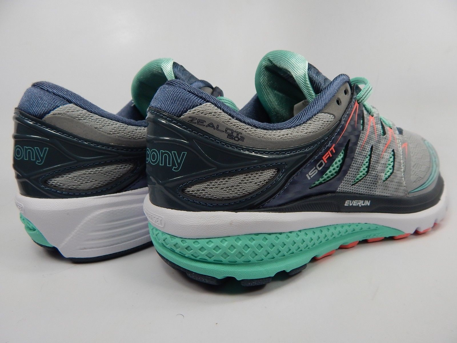 Saucony Zealot ISO 2 Running Shoes Women's Size US 9.5 M (B) EU 41 S10314-1