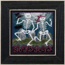 Spooky Scary 2017 Autumn Series Buttons and Beads cross stitch kit  Mill Hill - $12.60