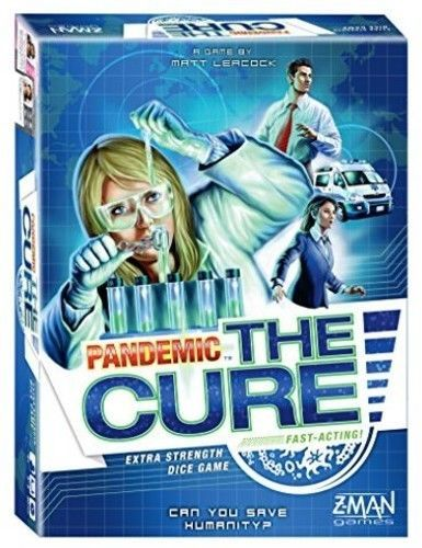 Pandemic: The Cure [New] Board Game Extra Strength Dice Game