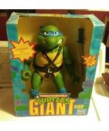 Playmates Teenage Mutant Ninja Turtles Giant Size Leonardo Figure 1989 - $173.25