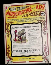 Old Time Agriculture In The Ads AA20-2269 Vintage Collectible