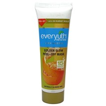 Everyuth Naturals Golden Glow Peel-Off Mask With 24 Karat Gold 50 Gm (pa... - $11.03