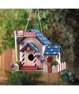 Smart Living Company 10015282 Patriotic Birdhouse - $22.52