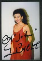 LUCIA  ALIBERTI   AUTOGRAPHED  PHOTO    NEAR  MINT   !! - $19.99