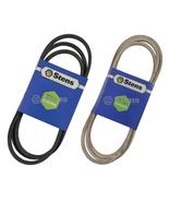 Deck & Drive Belt Combo Fits John Deere L105 L107 L108 L110 L111 L118 L130 - $43.38