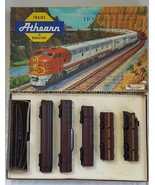 vintage ATHEARN Train Set PENNSYLVANIA RAILROAD new size HO scale in min... - $295.00