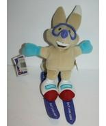 "8"" Fisher Price Fox Copper Skiing Plush Salt Lake 2002 Olympics Mattel S... - $15.42"