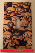 All Minions Light Switch Outlet Toggle Duplex wall Plate Cover home decor image 1