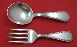 Winslow By Kirk Sterling Silver Baby Serving Set 2pc - $109.00