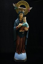 "35"" Our Lady of Perpetual Help Catholic Statue Sculpture Vittoria Made i... - $324.95"