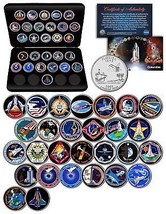 SPACE SHUTTLE COLUMBIA MISSIONS NASA Florida Statehood Quarters 28-Coin ... - $79.15