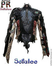 Exclusive womens jacket genuine crocodile python snake skin, Handmade Cy... - $1,999.00