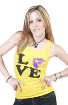 FSAS Famous Stars and Straps Love Tank Top Travis Barker Blink 182 image 5