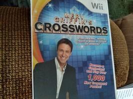 Nintendo Wii  Merv Griffin's Crosswords  image 1