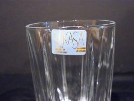 Set of 4  Mikasa BERKELEY Crystal  Highball Glasses Made in Germany  image 3