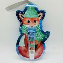 Bath & Body Works MERRY COOKIE Lip Gloss Fox Ornament Gift 0.47 fl.oz/14 ml NEW - $12.38
