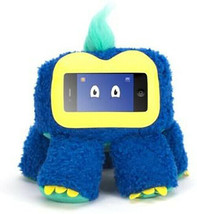 Griffin Tecnología Woogie Plush Juguete Para IPHONE Y Ipod Touch- Azul Zee - $16.93