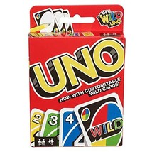 Mattel Games UNO: Classic Card Game, Multi, 8 x 3-3/4 x 81/100 in (42003) - $10.90