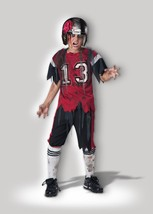 Incharacter la Zona Muerta Zombie Fútbol Niños Disfraz Halloween CB17052 - $31.48