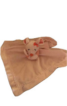 Carter's pink Soft mouse lovey plush with rattle inside Security Blanket - $14.25