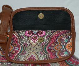 Howards Product Number 68985 Large Shoulder Bag Multi Color Paisley image 4