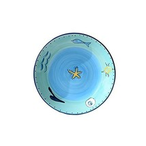 George Jimmy Creative Hand-Painted Plate Ceramics Dish Decoration Hangin... - $40.93
