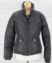J CREW Down Jacket Winter Puffer Very Warm Insulated Coat Women's Medium Black - $67.32