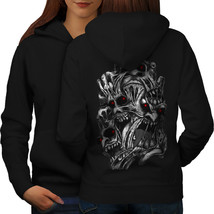 Evil Face Satan Horror Sweatshirt Hoody  Women Hoodie Back - $21.99+