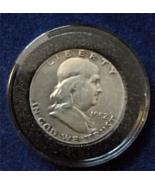 1952 Ben Franklin Silver Half Dollar, Xtra-Fine, circulated, Silver, Nic... - $96.00