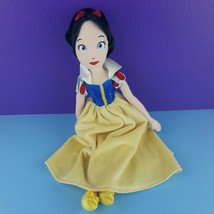 "Disney Princess Snow White 15"" Plush Doll Stuffed Embroidered Face  - $17.82"