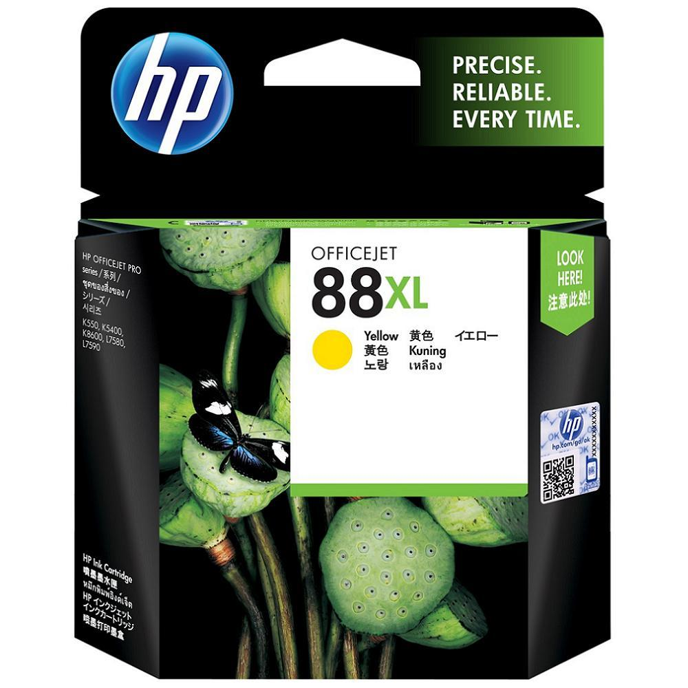 Primary image for Yellow Ink-HP 88XL High Yield Cartridge (for Officejet Pro K550/K550dtn/K550dtw)