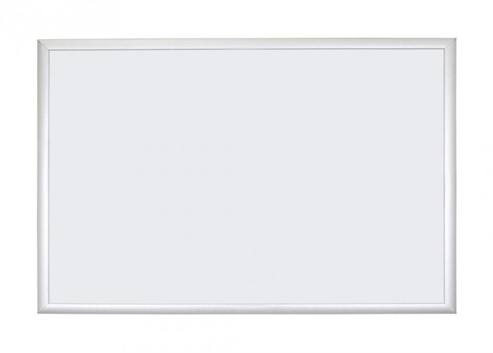 U Brands Basics Magnetic Dry Erase Board 35 x 23 Inches Silver Aluminum Frame