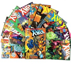X-Men Comic Book Lot 14 Issues Marvel Movie Wolverine Gambit Beast Storm Rogue - $24.70