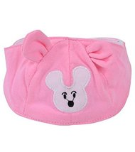 Summer Baby Hats/Caps Infant Bald Head Cotton Hats Pink Mice