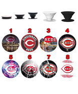 Pop up Phone Holder Expanding Stand Finger Grip Mount Cincinnati Reds - $11.99