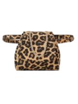 Zara Genuine LEATHER ANIMAL PRINT MINI BELT BAG BNWT LEOPARD - $55.85